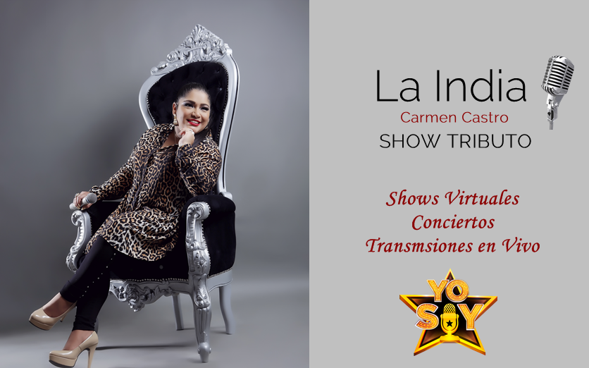 SHOW VIRTUAL TRIBUTO LA INDIA